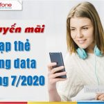 khuyen mai the nap tang data thang 7.2020